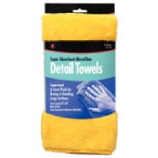 Buffalo Industries Microfiber Detail Towels 2/Pk