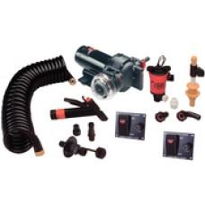 Johnson Pump Aqua Jet 5.0 Wsh/Dwn 550 L/W