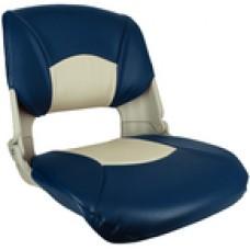 Springfield Skipper Seat Gray W/Blue&Gray