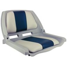 Springfield Traveler Seat Gray W/Blue&Gray
