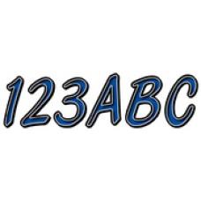 Hardline Products 5Eries 400 Reg Kit Blue/Blk