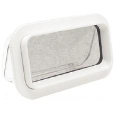 Beckson 5X12 Self-Drain Portlite White