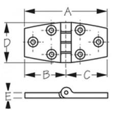 SEADOG Door Hinge 1-1/2 (Pr/Cd)