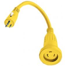 Hubbell Adapter 30A Twist-15 Str