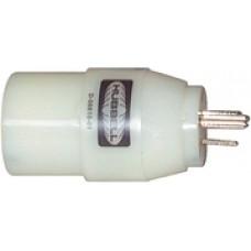Hubbell Adapter 30A Twist/15A Str.