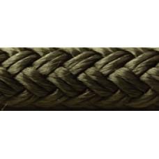 Seachoice Black Dbl Braid-3/8 X 600'