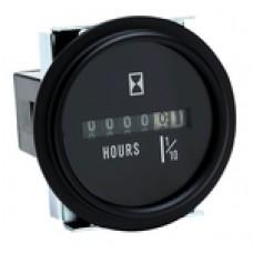Seachoice Hour Meter Black Bezel