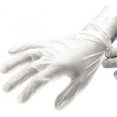 Ammex Gloves Vinyl Gloves-Large 100/Box