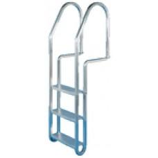 Dock Edge Dock Ladder 3 Step W/Quic Rls
