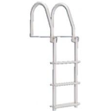 Dock Edge Dock Ladder 4 Step Flip Up