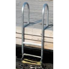 Dock Edge Dock Ladder 4 Step Welded Alum
