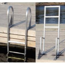 Dock Edge Dock Ladder 5 Step Flip Up
