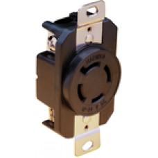 AFI Receptacle 12/24V Locking