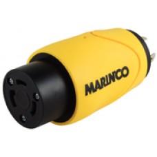 Marinco Adapter 20A Ma Lock/ 30A Fem Lock