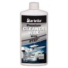 STARBRITE Cleaner/Wax-Prem One Step 16Oz