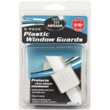 Camco Plastic Window Guard 1 6/Pk