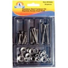 Handiman Ss Oval Machine Screw Kit