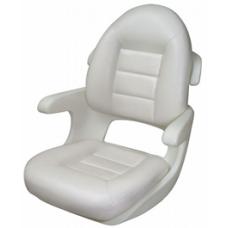 Tempress Seat Helm Elite High Back Wht