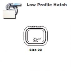 Lewmar Hatch Lo-Profile Size 03