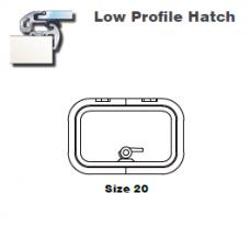 Lewmar Hatch Lo-Profile Size 20