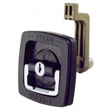 Perko Latch Flush Locking/ Black