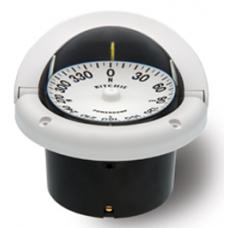 Ritchie Compass Helmsman Flush White