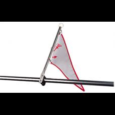 Seadog Flagpole Stainless Steel Rail Mount