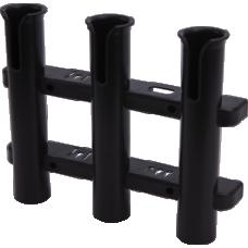 Seadog Rod Holder Rack 3-Pole Black