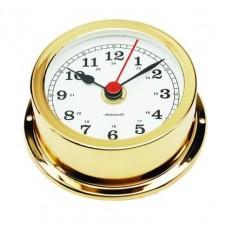 CLOCK,GOLD PLAT 70MM FACE ARU95D