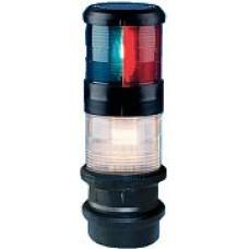 Aqua Signal Tri-Colour Anchor 10W-25W Blk