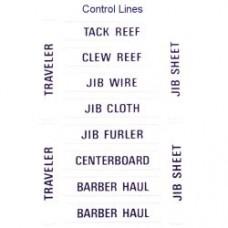 Forespar Labels Control Lines (202)