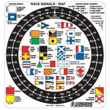 Forespar Labels Race Flag Sig (207)