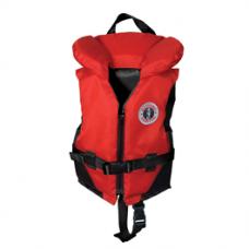 Mustang Child Vest 30-60lb Red/Black