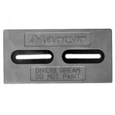 """Anode Alum. Divers Dream 1/2""""X6""""X12"""""""